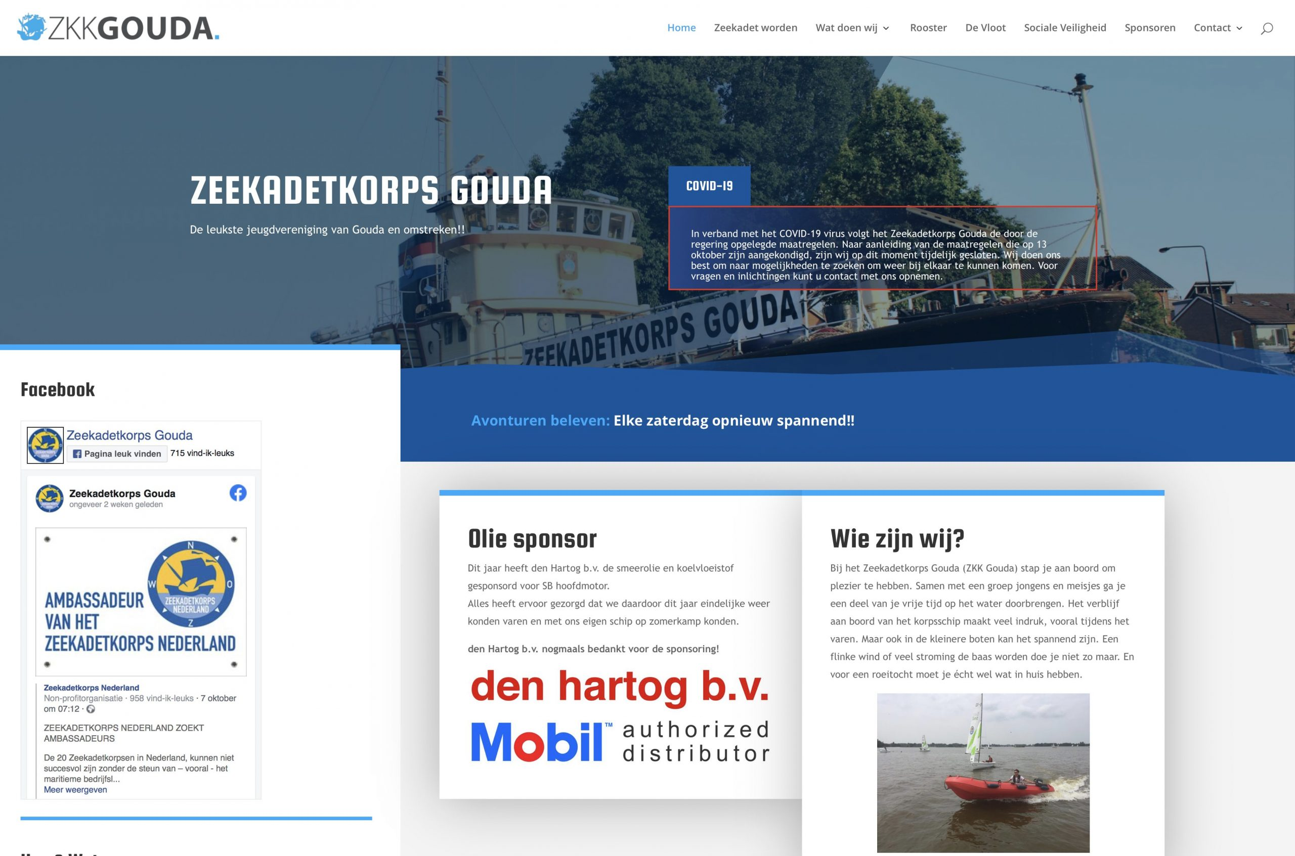 Historie Zeekadetkorps Nederland